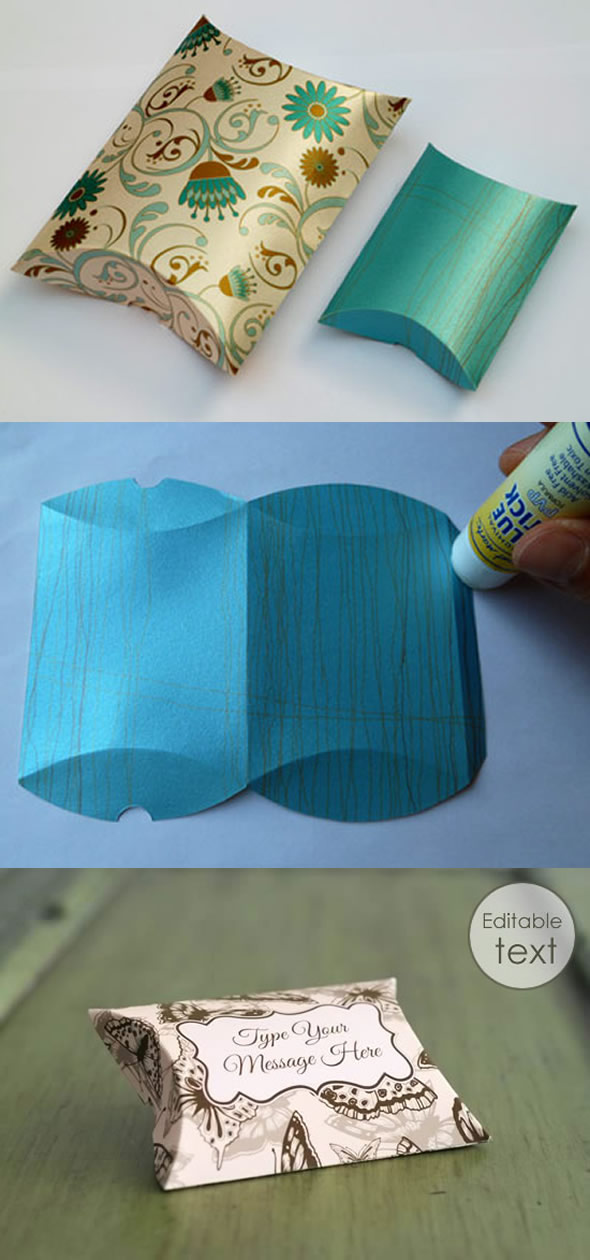 10 Moldes de Caixinhas para fazer Lembrancinhas Lindas