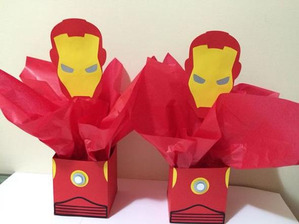 15 Lembrancinhas Lindas para Aniversário Homem de Ferro