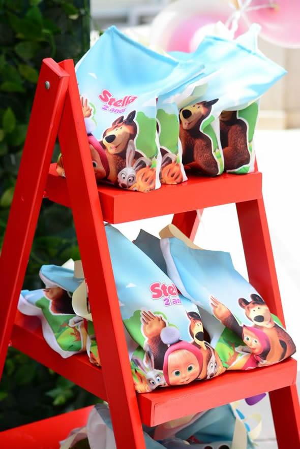 15 Lembrancinhas Criativas para Festa Masha e o Urso
