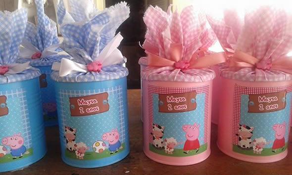 10 Lembrancinhas Fofas para Festa da Porca Peppa Pig