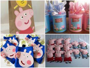 10 Lembrancinhas Fofas para Festa da Porca Peppa