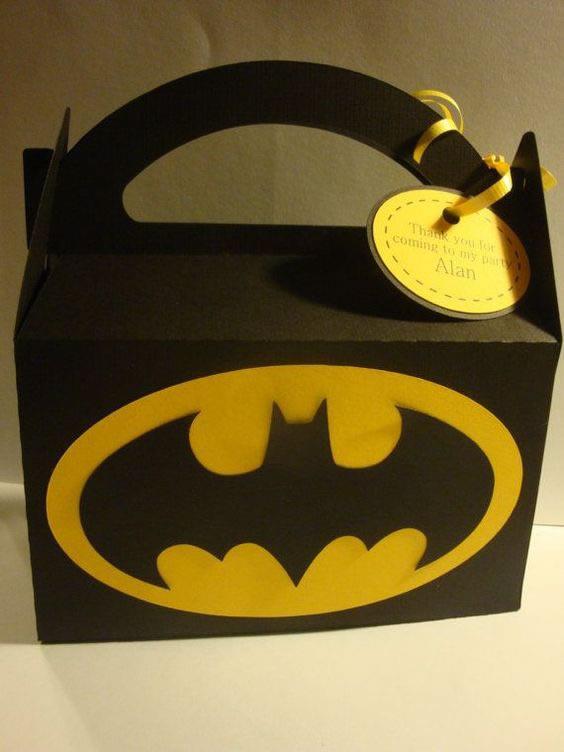 12 Lembrancinhas Lindas para Festa de Aniversário do Batman