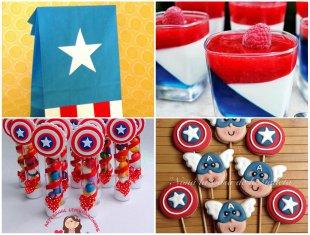 12 Lembrancinhas Lindas para Aniversário Capitão América