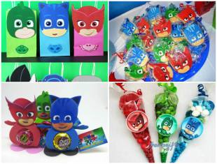 15 Lembrancinhas Lindas para Festa de Aniversário PJ Masks