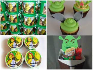 10 Lembrancinhas Lindas para Festa de Aniversário Shrek