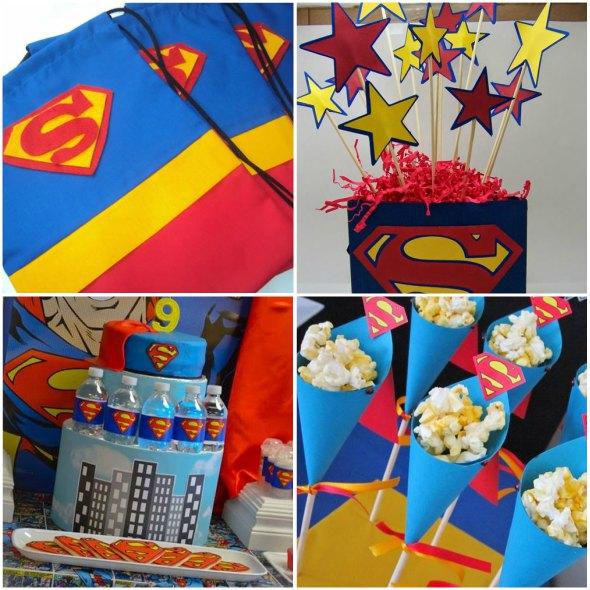 10 Lembrancinhas Fofas para Aniversário Super-Homem