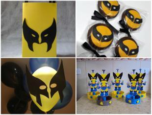 Lembrancinhas Lindas para Aniversário Wolverine