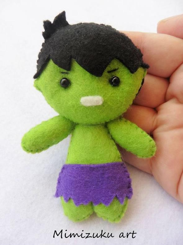 14 Lembrancinhas Lindas e Fofas para Aniversário Hulk
