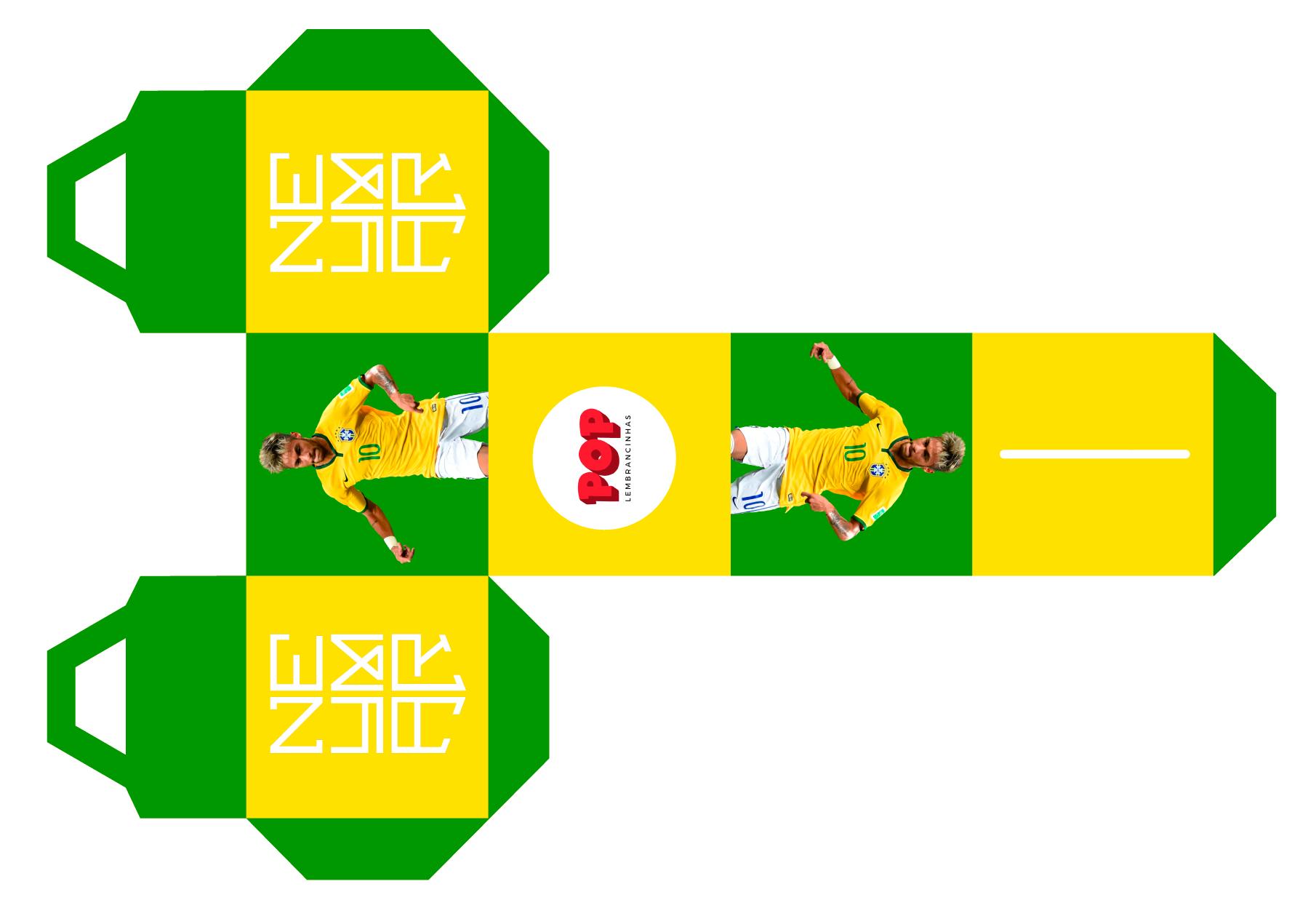 Lembrancinha para Festa Neymar com Molde
