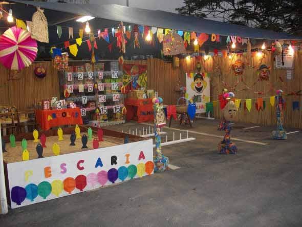 Decoração de Festa Junina na Escola: 20 exemplos