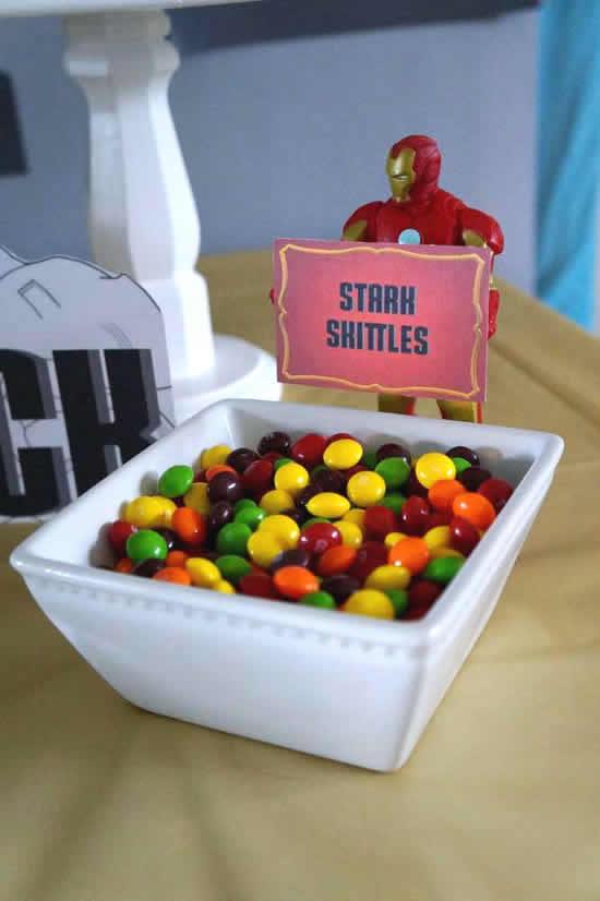 Enfeites para Festa Homem de Ferro: 12 ideias