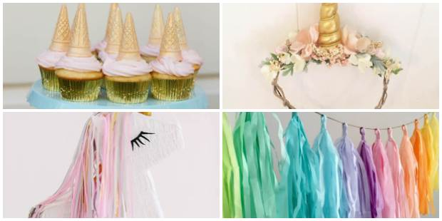 10 ideias criativas para Festa Unicórnio