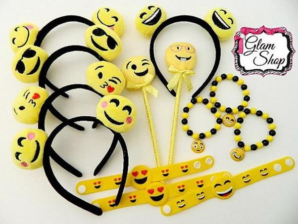 10 Lembrancinhas para Festa de Aniversário Emoji Pop Lembrancinhas -> Decoração De Festa Tema Emoji