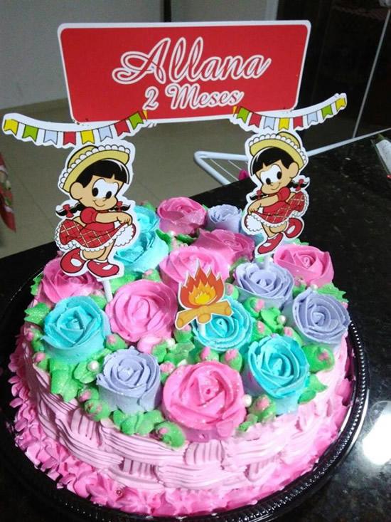 Bolos de Aniversário para Festa Junina