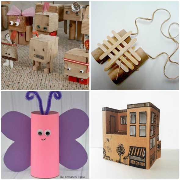 Brinquedos Reciclados Criativos