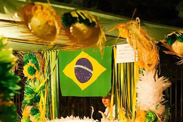 Decoração Junina para Copa do Mundo