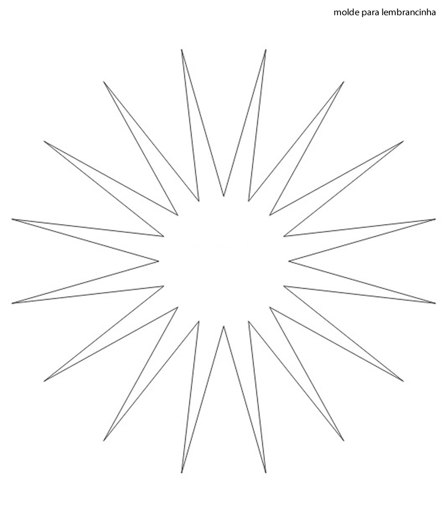 Lembrancinha de Papel Simples com Molde