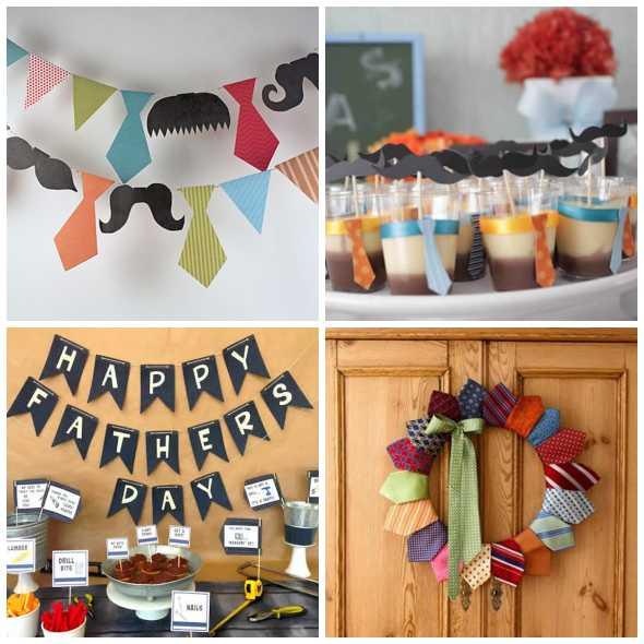 20 Ideias para Decoração de Dia dos Pais