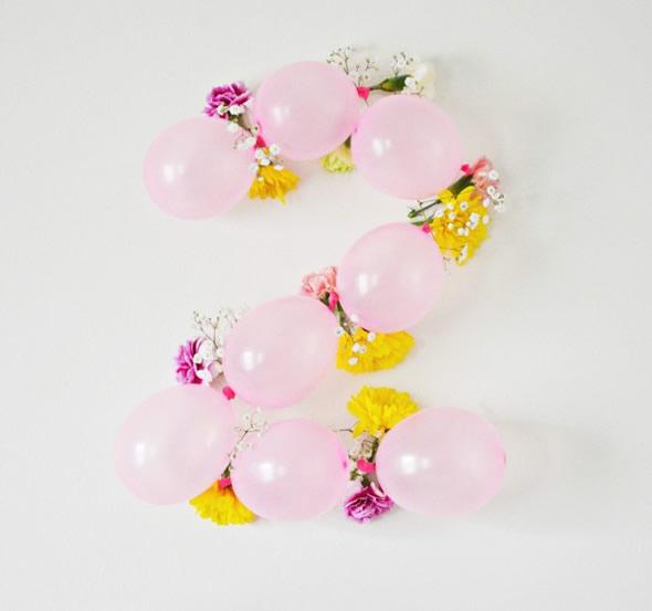 Idade em Balões para Festa de Aniversário