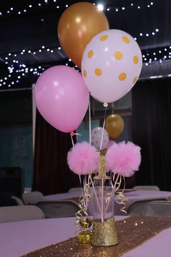20 Ideias de Centros de Mesa para Festa