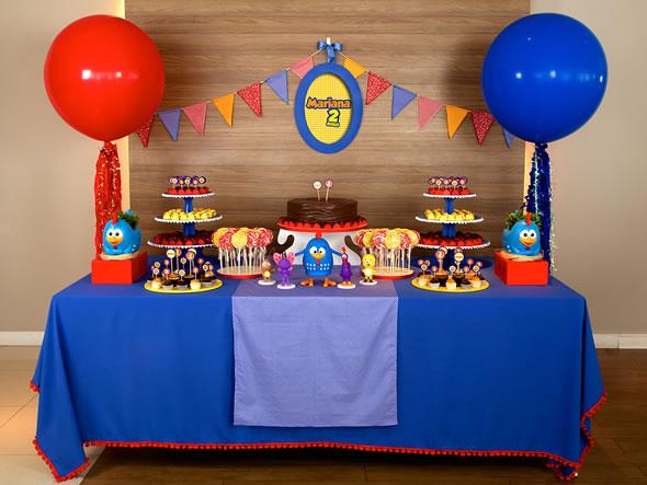 Ideias para Festa Galinha Pintadinha