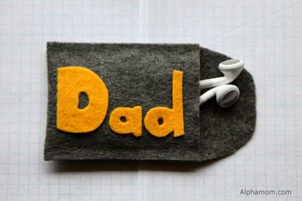 Lembrancinhas para o Dia dos Pais em Feltro
