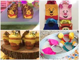 Lembrancinhas para Festa Ursinho Pooh