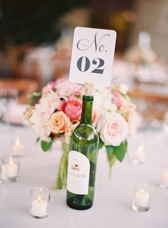 Garrafinhas Decoradas para Casamento