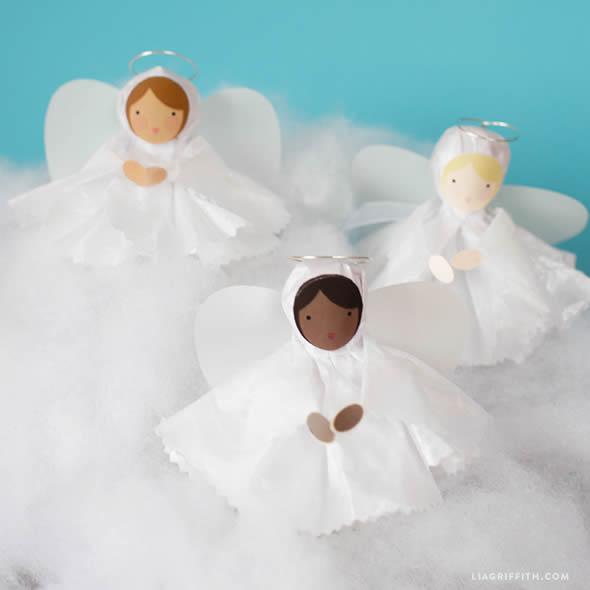 Lembrancinha com Pirulito para Batizado