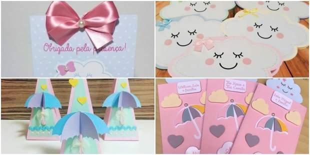 Lembrancinhas Criativas para festa Chuva de Amor