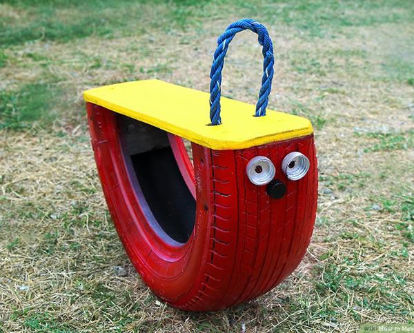 Brinquedo para o Dia das Crianças com Reciclagem