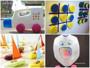 10 brinquedos com material reciclado fáceis de fazer