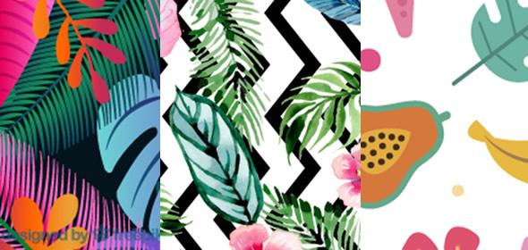 Moldes de Caixinha Tropical para Imprimir