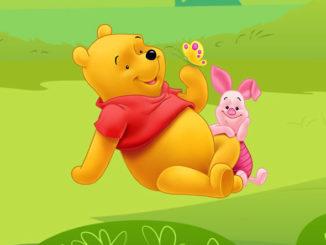 Moldes Grátis para Caixinha Ursinho Pooh