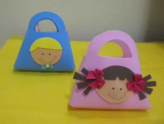Lembrancinha de EVA para o Dia das Crianças