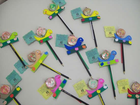 Lembrancinha com EVA para o Dia das Crianças