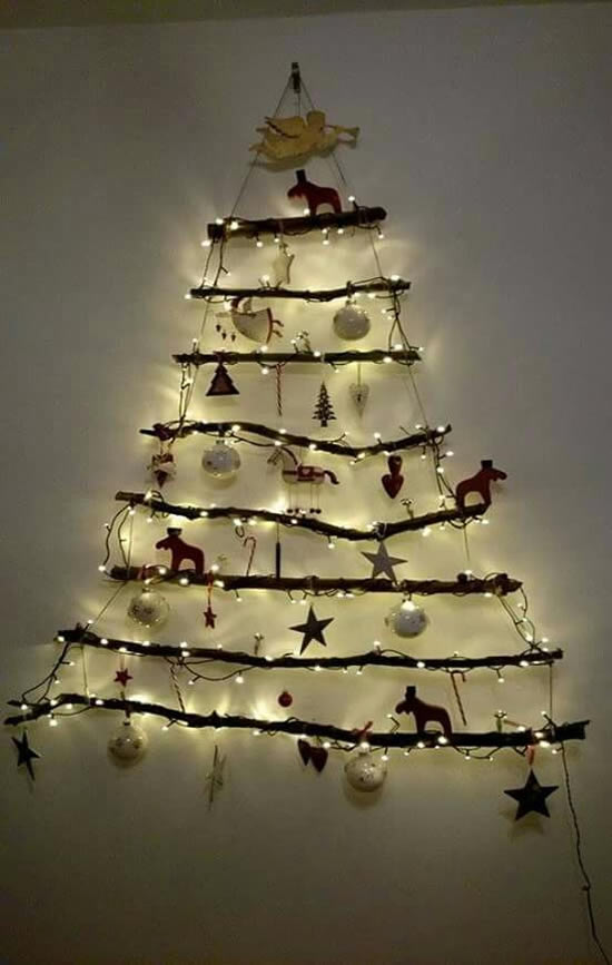 40 Exemplos de Árvores de Natal Criativas