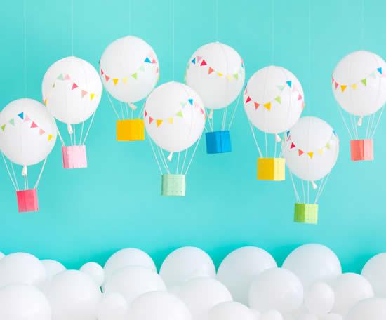 Balõezinhos Decorativos para Festa com Balões
