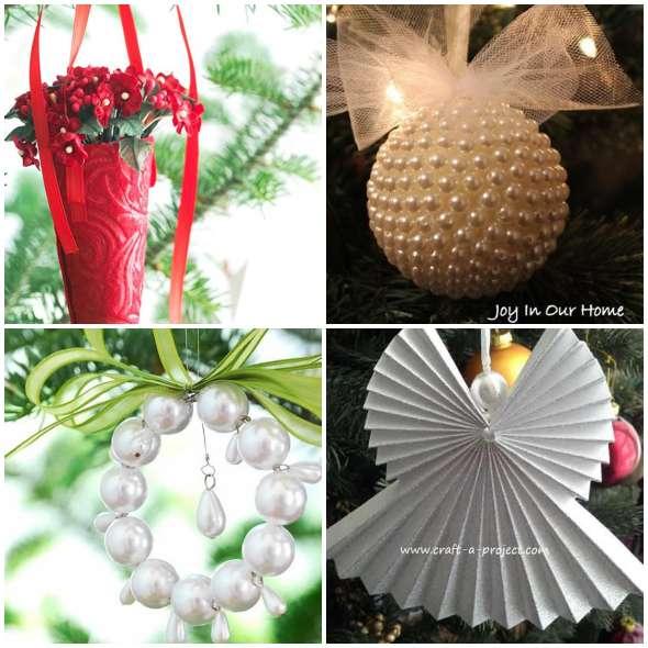 Enfeites Criativos para Árvore de Natal