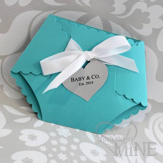 30 Lembrancinhas com Fraldinhas para Chá de Bebê