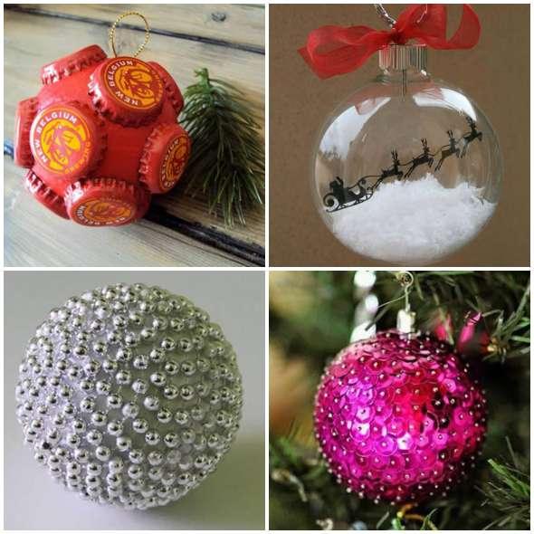 Como fazer Bolas de Natal