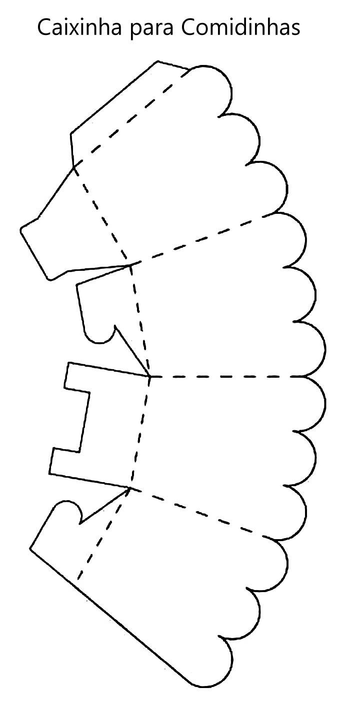 Caixinhas de Papel com Moldes para Natal