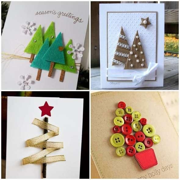 Lindos Cartões de Natal Criativos