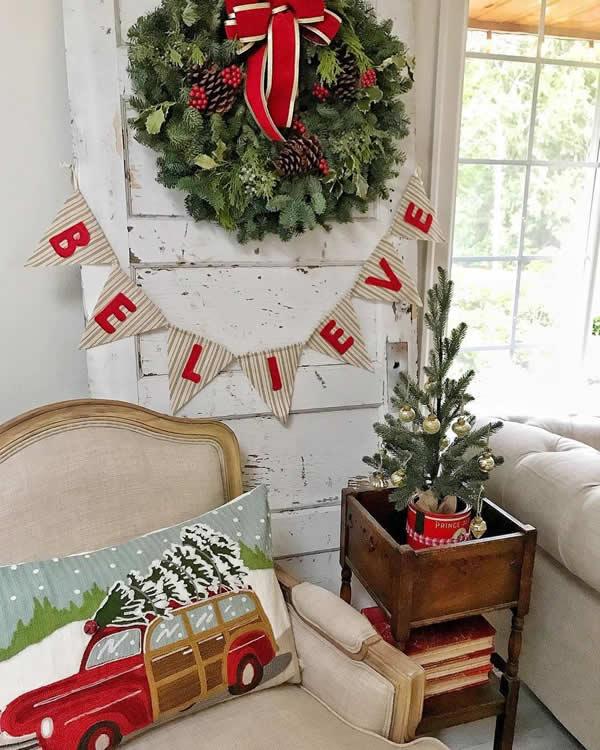 Decoração de Natal simples e fácil