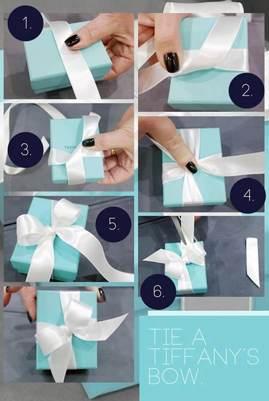 12 Exemplos de Laços para Presentes de Natal