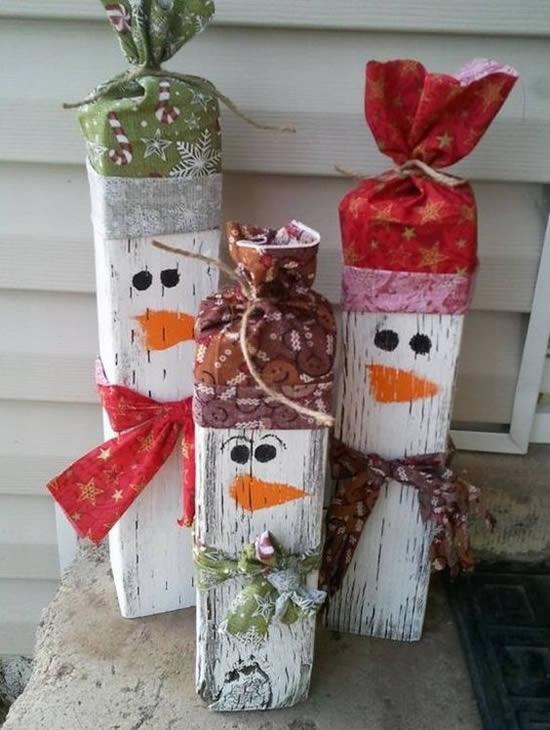 Enfeites com Sucata para Natal