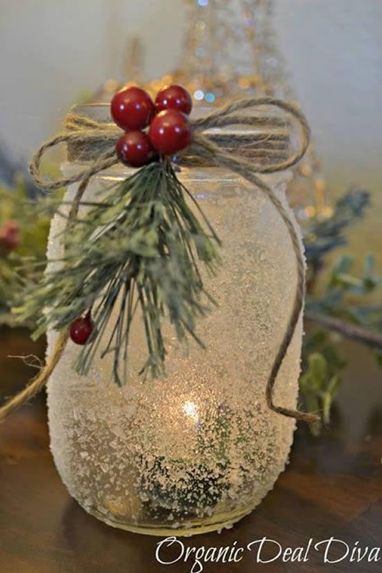 Decoração para Natal com Velas