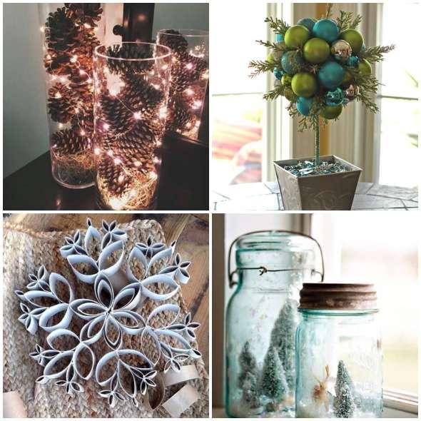 Ideias baratas para decorar a casa no Natal