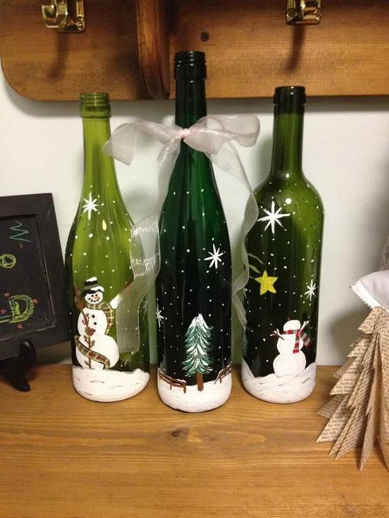 Decoração de Natal Fácil com Reciclagem