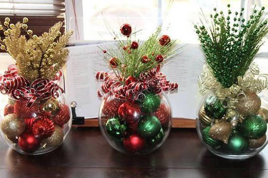 Enfeites para Mesa de Natal
